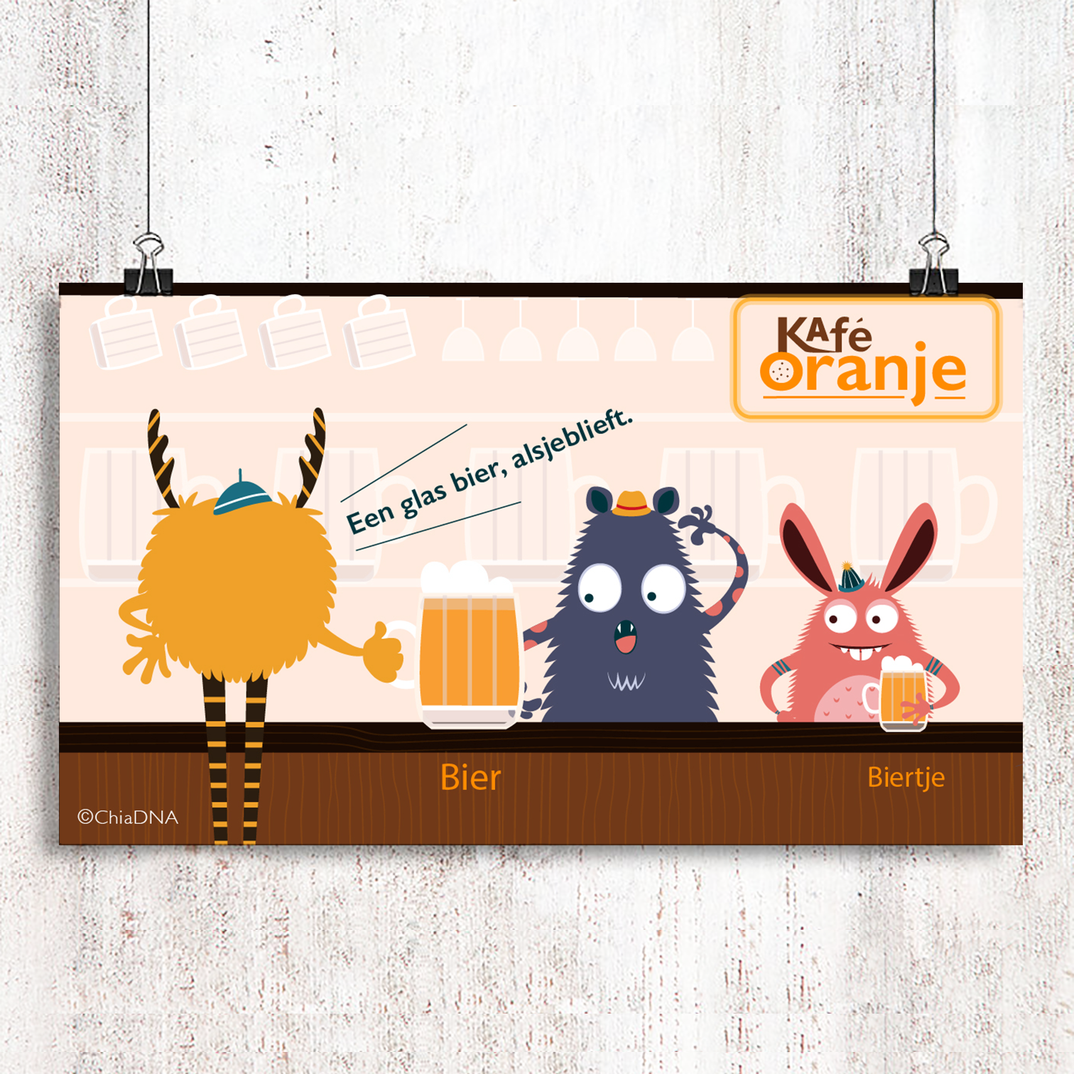 Ya! It's Friday! – Café Oranje