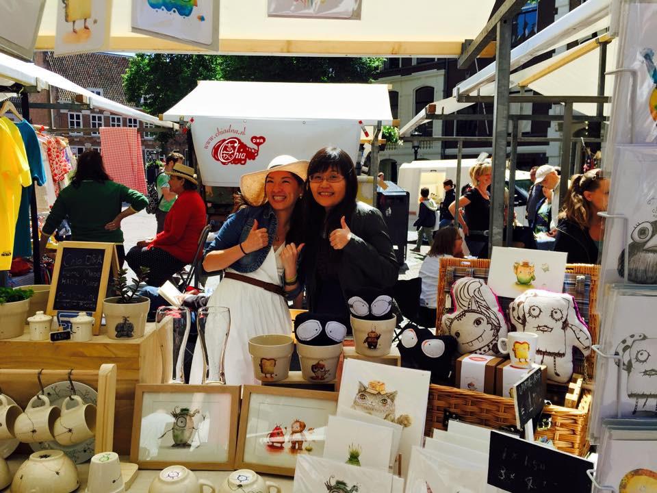 De Zelfgemaakte markt Utrecht _Chia DNA