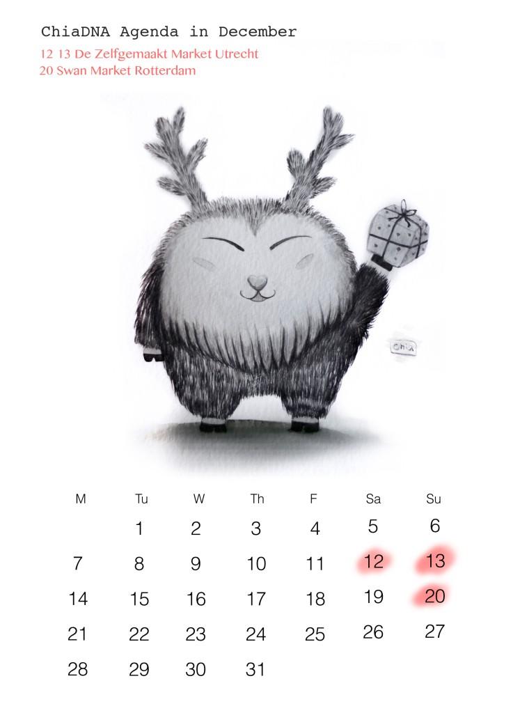 ChiaDNA December agenda