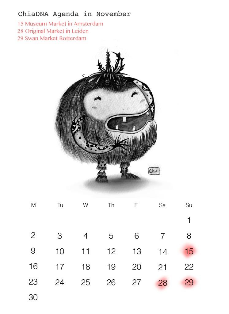 ChiaDNA November agenda