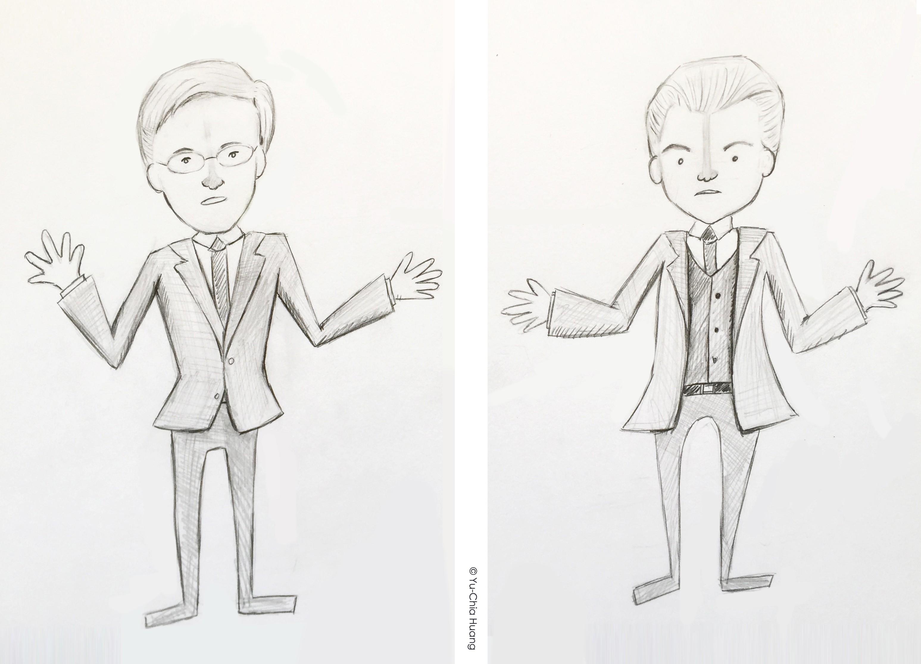 dutch-politicians-sketch