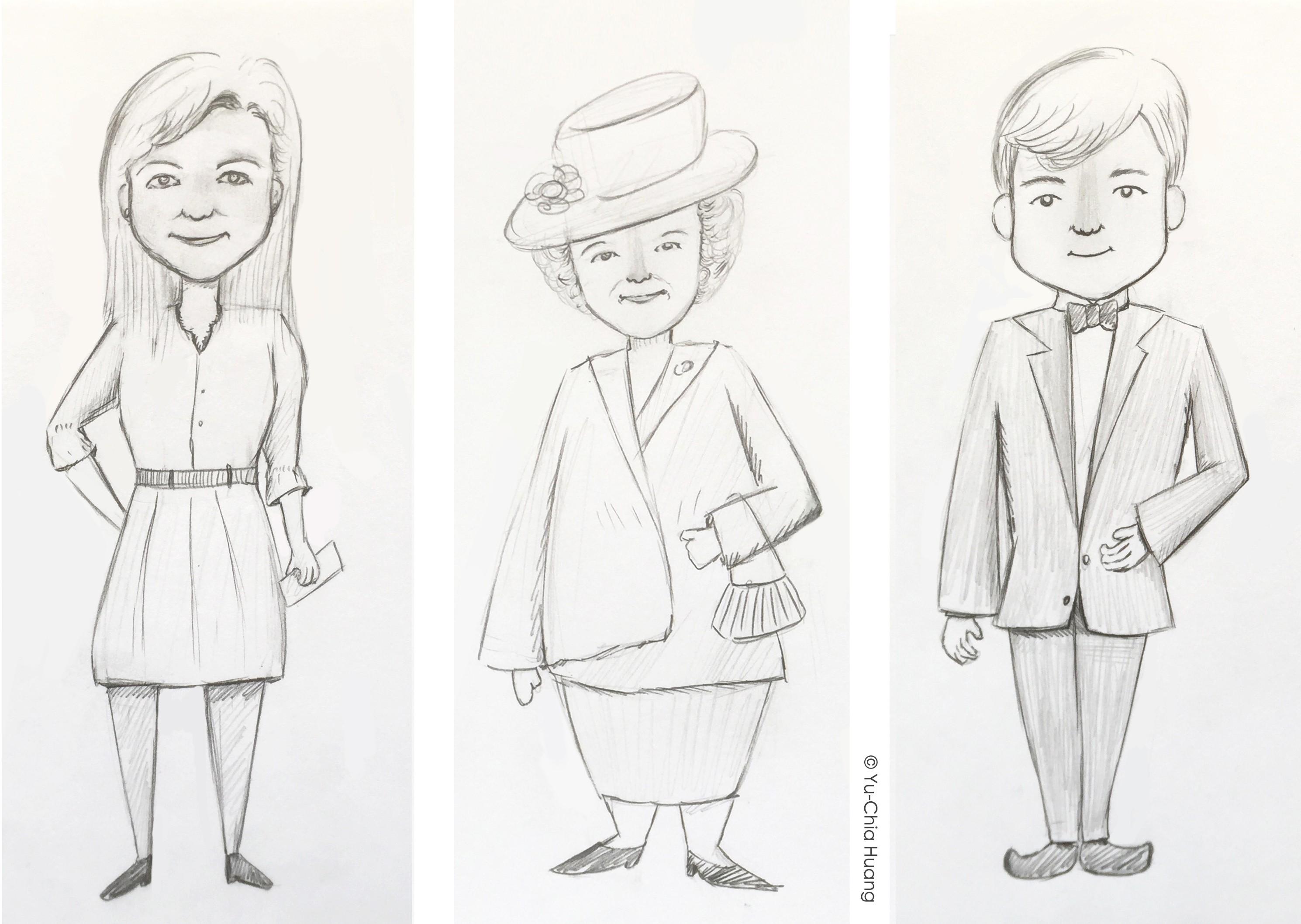 dutch-royals-sketch