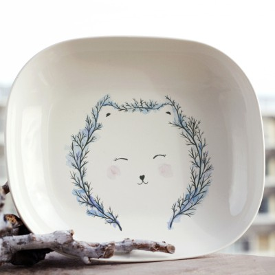 Forest bear plate_1©ChiaDNA