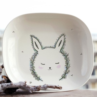 Forest rabbit plate_1©ChiaDNA