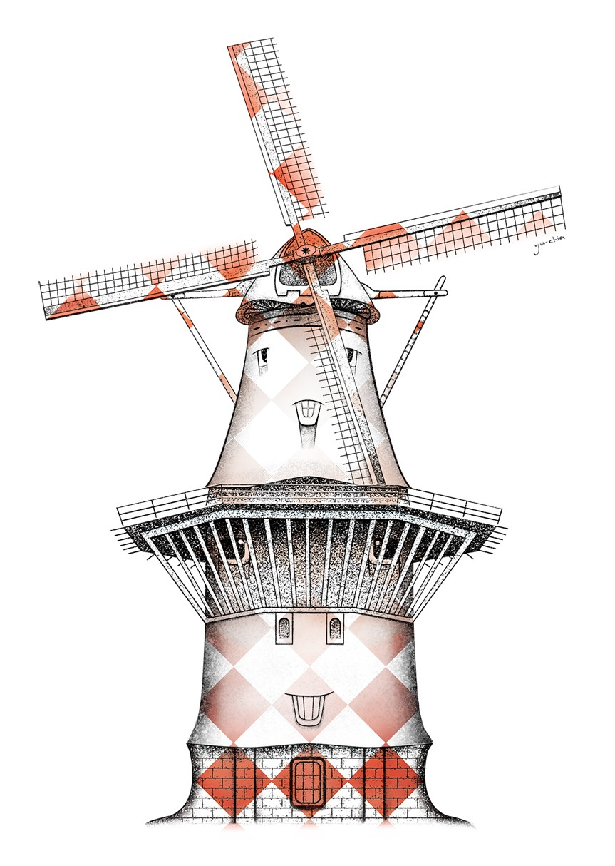 hidden-city_-windmile-in-dutch-orange