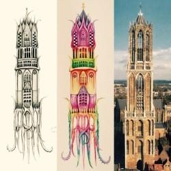 Hidden creatures Utrecht_Dom Tower