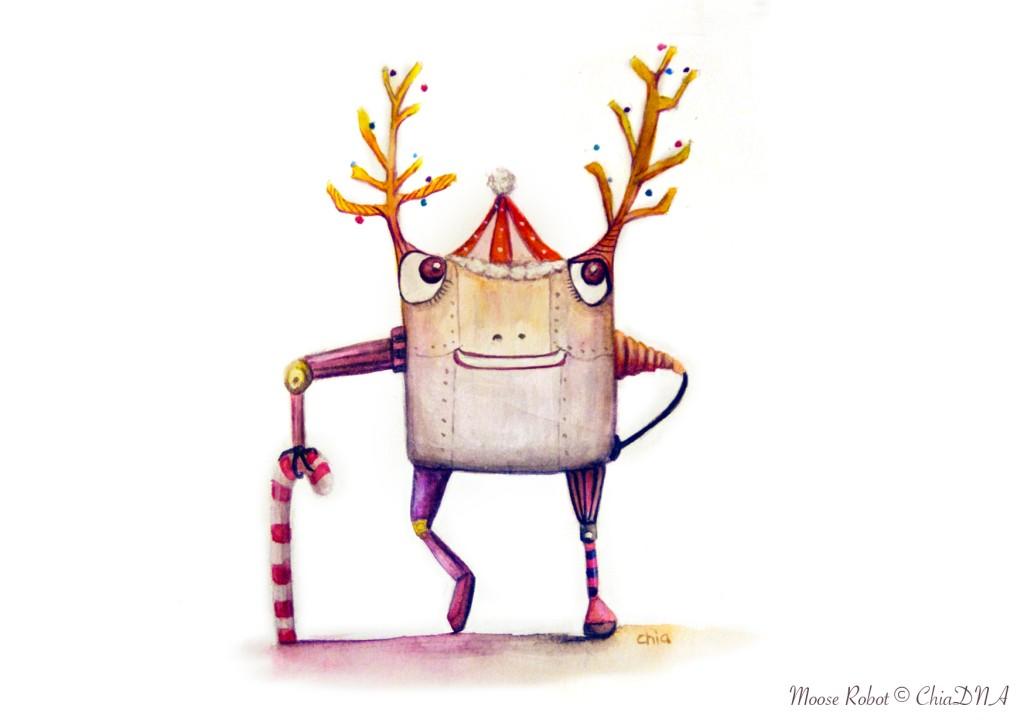 Moose Robot©ChiaDNA