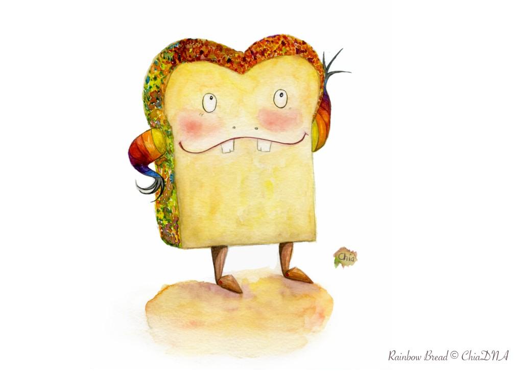 Rainbow Bread©ChiaDNA