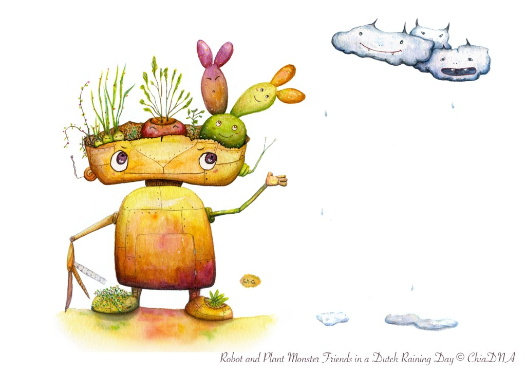 Robot & Plant Monsters©ChiaDNA