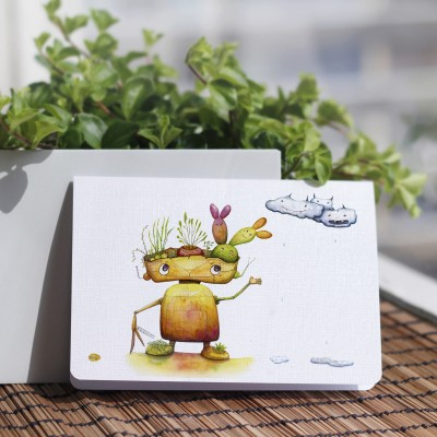 Robot & plant Monsters_©ChiaDNA