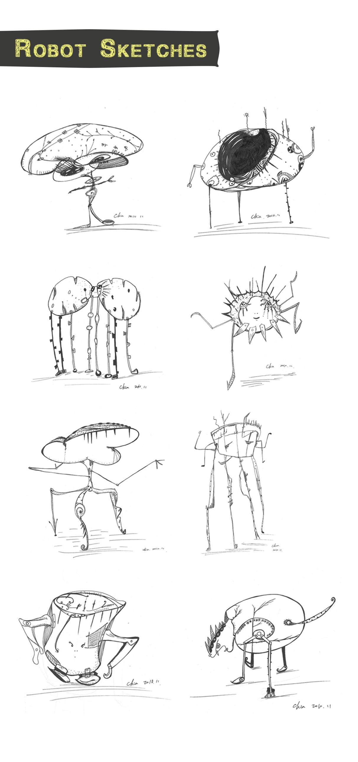 robot-sketches