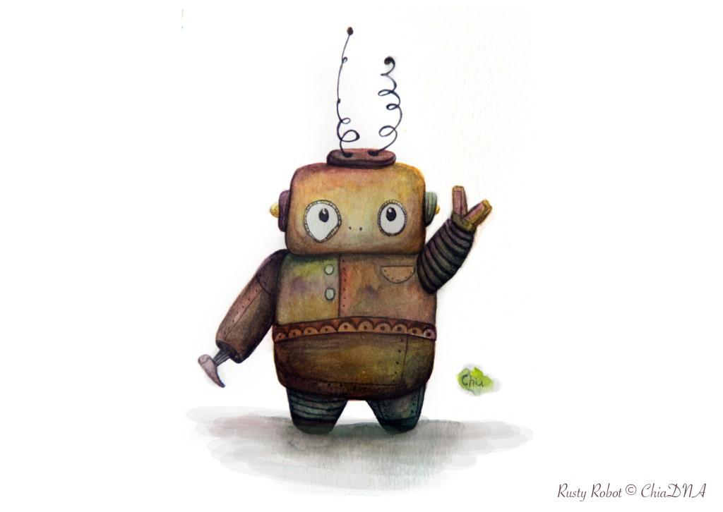 Rusty Robot©ChiaDNA