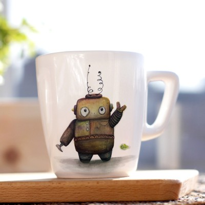 Rusty Robot big Mug_1©ChiaDNA