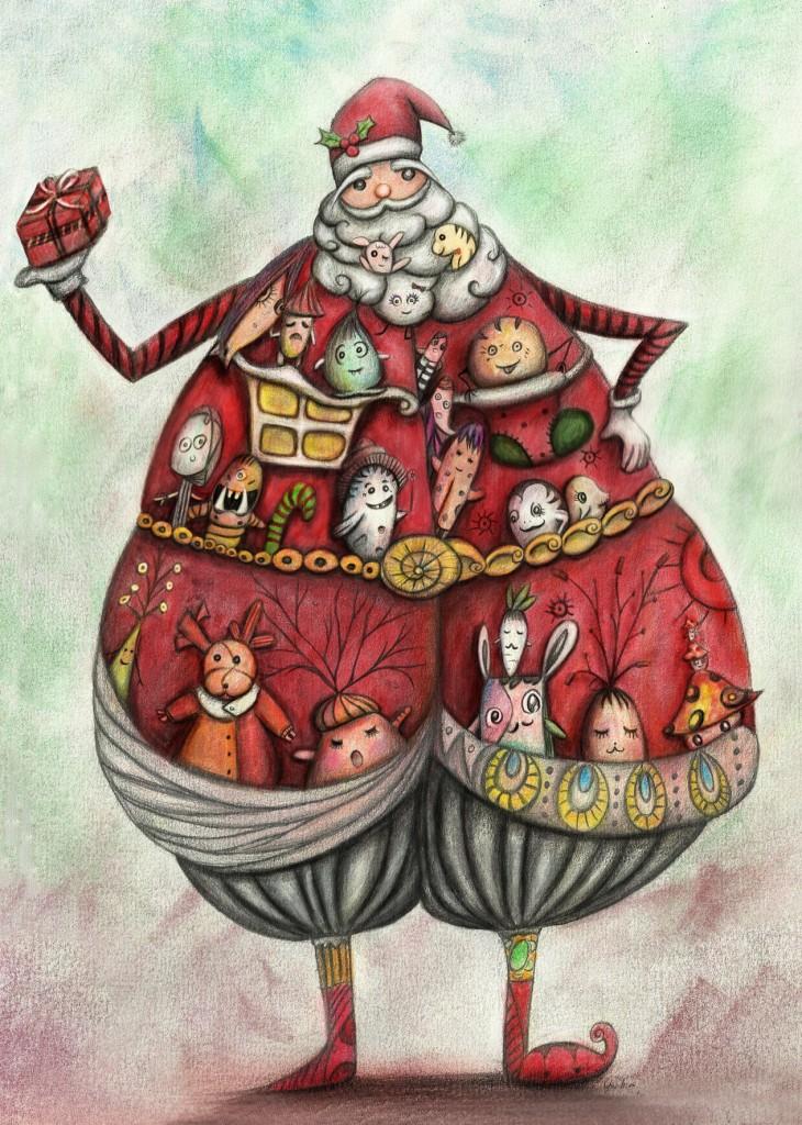 Santa Claus_Chia DNA©ChiaDNA