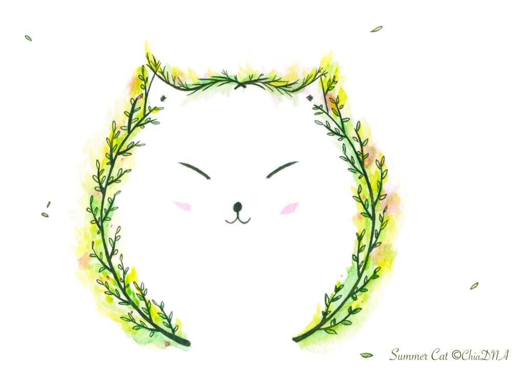 Summer cat©ChiaDNA