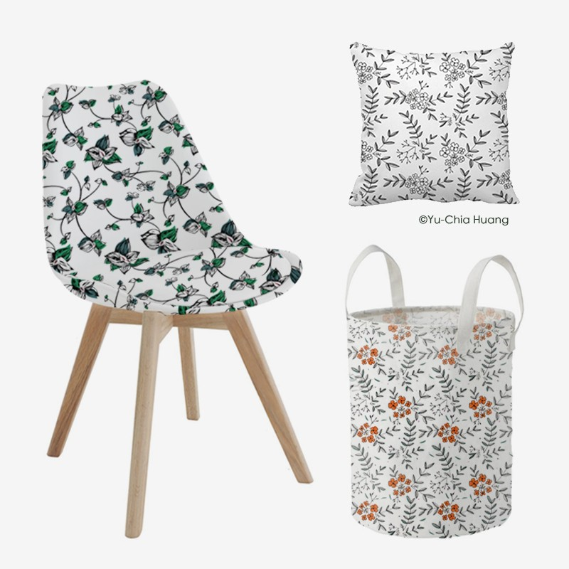 Flora patterns for Home Deco