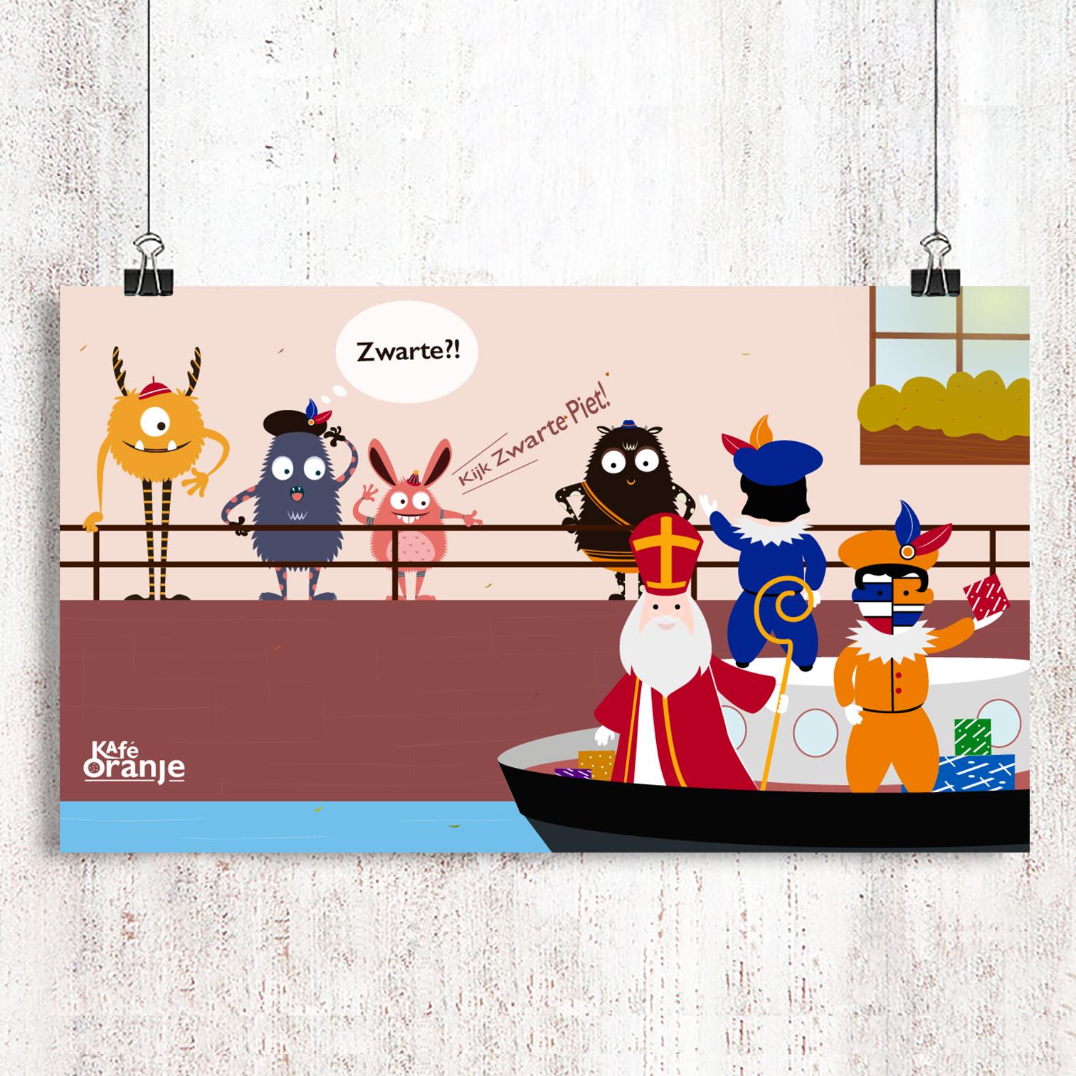 Zwart Piet- Café Oranje