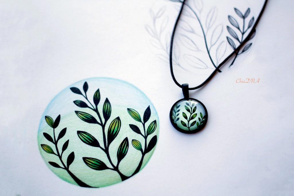 Pattern & Jewelry design_Flora @ ChiaDNA