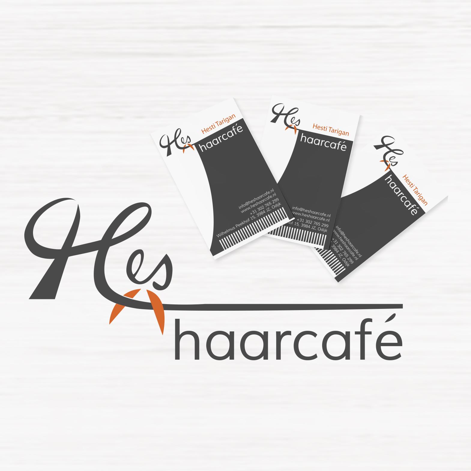 Logo & Business card design of Haarcafé