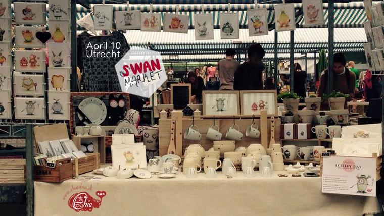 Swan market x Chia DNA utrecht