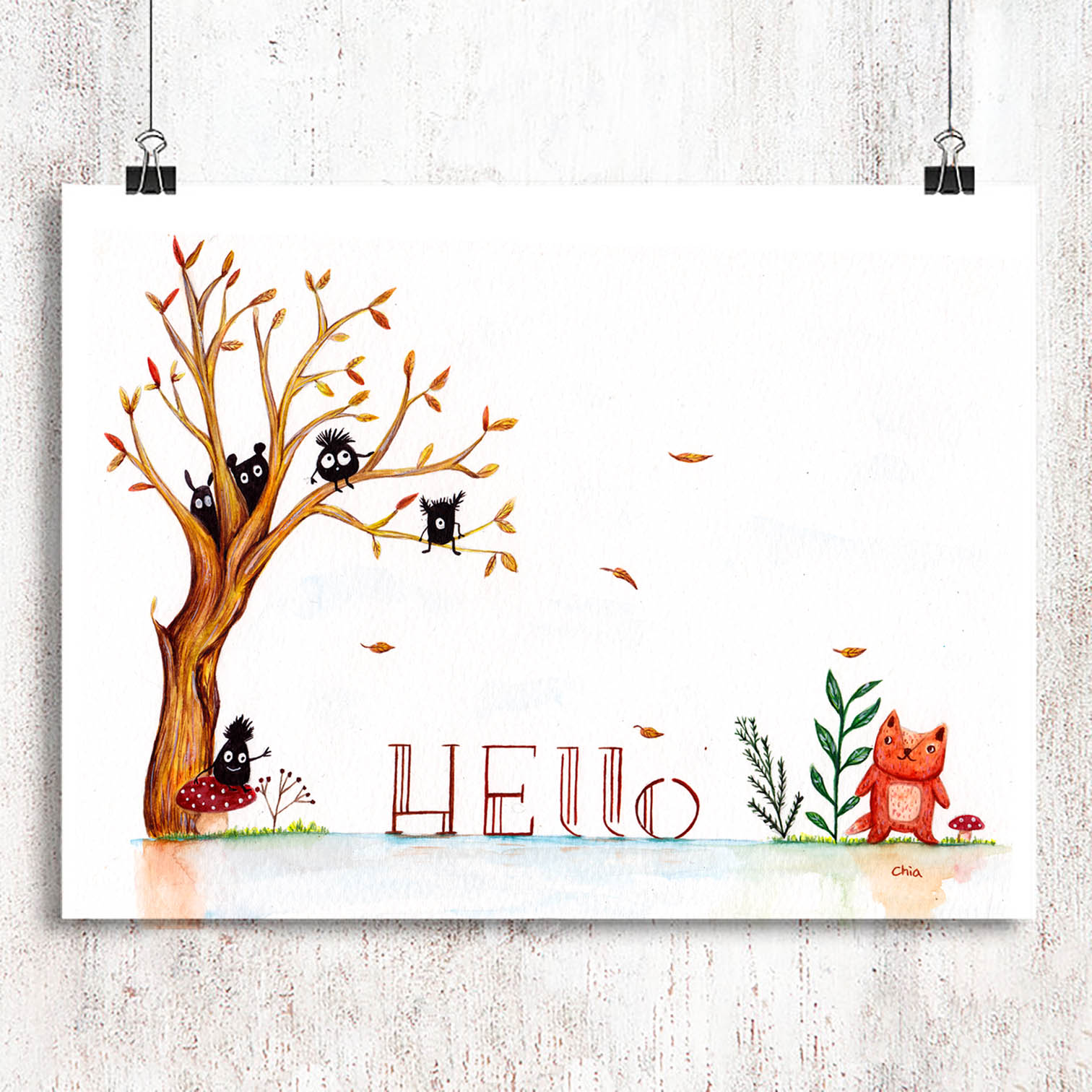 print-horizental-display-autumn