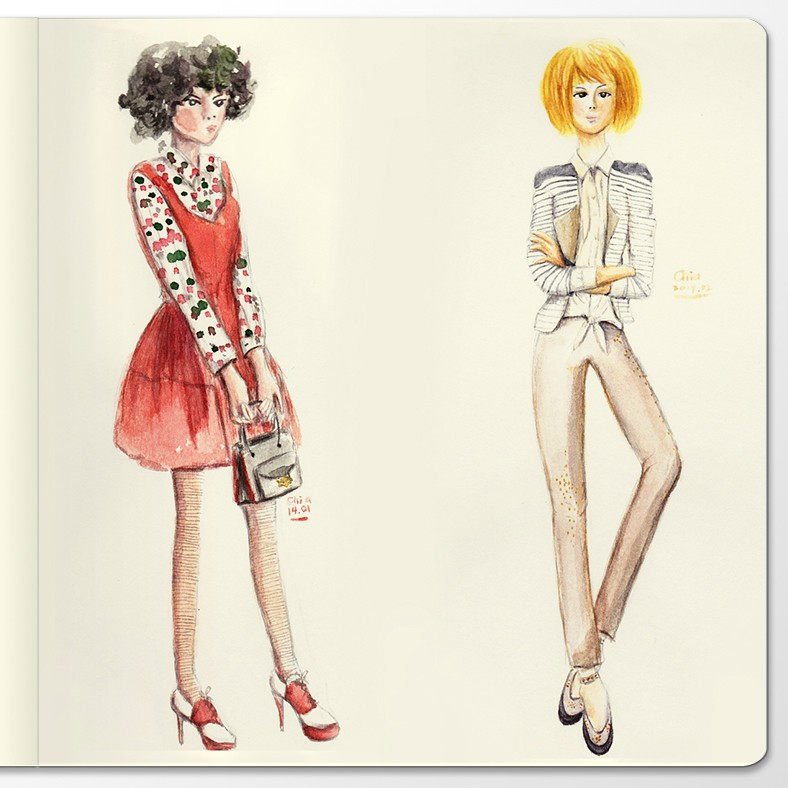 sketchbook-display-fashion