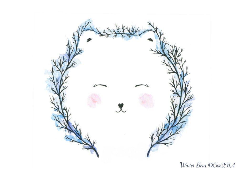 winter bear©ChiaDNA